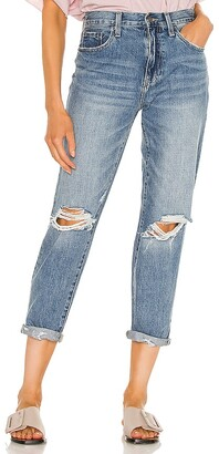 Pistola Denim Presley High Rise Relaxed Roller