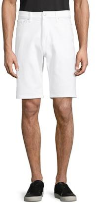Calvin Klein Jeans Straight-Fit Denim Shorts