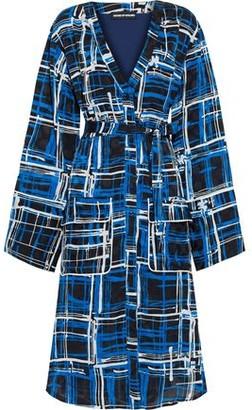 House of Holland Printed Jacquard Shirt Dress