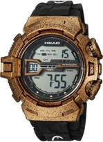 Head Men's 'Half Pipe' Quartz Resin and Rubber Casual Watch, Color: (Model: HE-106-03)