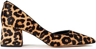 MICHAEL Michael Kors Dixon Leopard-print Calf Hair Pumps