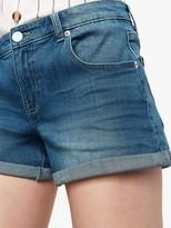 Oasis Abigail Denim Shorts, Light Wash