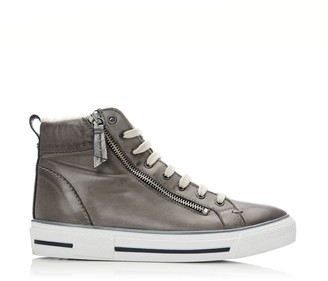 Moda In Pelle Ferenzi Grey Leather