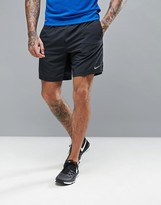Nike Running 7 Distance Shorts In Black 642807-010