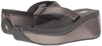 Volatile Orville (Pewter) Women's Sandals