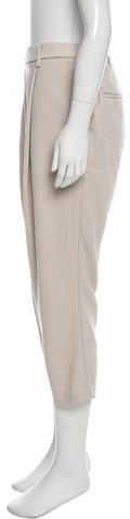 Brunello Cucinelli Cropped Virgin Wool Pants