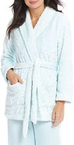 Miss Elaine Damask Luxe Fleece Bed Jacket