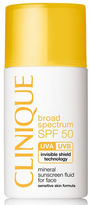 Clinique Mineral Sunscreen Fluid for Face - Broad Spectrum SPF 50