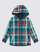 Marks and Spencer Reversible Hooded Shirt (3 Months - 5 Years)