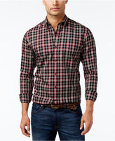 Club Room Men's Big and Tall Antelope Tartan Shirt, Only at Macy's