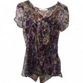 Christian Dior Purple Silk Top for Women