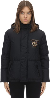 Moschino HOODED DOWN JACKET