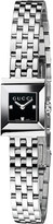 Gucci YA128507 G-frame Collection stainless steel and diamond watch