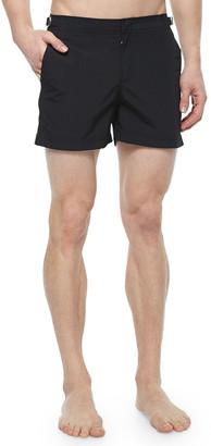 Orlebar Brown Setter Short-Length Swim Trunks, Black