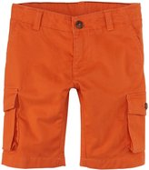 Petit Bateau Shorts with Side Pockets (Toddler Kids) - Orange-3 Years