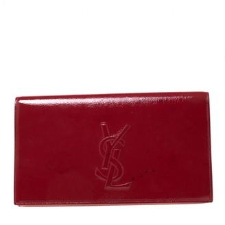 Saint Laurent Belle de Jour Red Patent leather Clutch bags