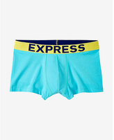 Express color block knit sport trunk