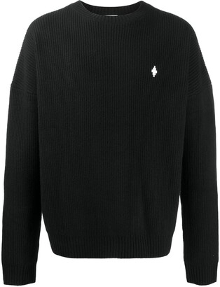 Marcelo Burlon County of Milan MBCM ribbed-knit wool jumper