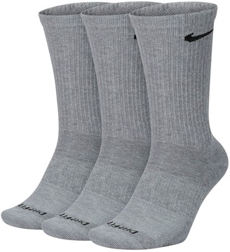 Nike Men's 3-pack Everyday Plus Lightweight Crew Socks