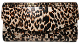 Kardashian Kollection Evening Clutch Leopard