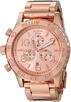 Nixon Women's A037897 42-20 Chrono Watch