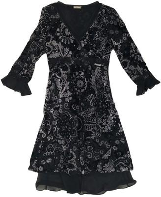 Galliano Black Velvet Dress for Women