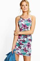 Boohoo Savannah Printed Strappy Bodycon Dress