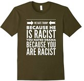 Kids Typography Funny Saying We Hate Trump T-shirt 12