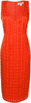 Diane von Furstenberg fitted midi dress