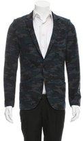 Scotch & Soda Camouflage Two-Button Blazer