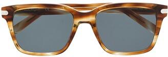 Salvatore Ferragamo Wayfarer-Frame Tortoiseshell Sunglasses