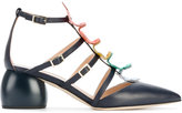 Anya Hindmarch Apex Cage pumps - women - Leather - 35.5