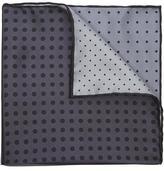 Lanvin Four Colour Dot Pocket Square