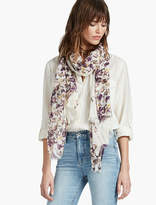 Lucky Brand Tossed Floral Scarf