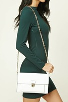 Forever 21 FOREVER 21+ Faux Leather Clutch