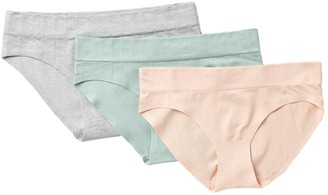 Jessica Simpson Seamless Ribbed Hipster - Pack of 3