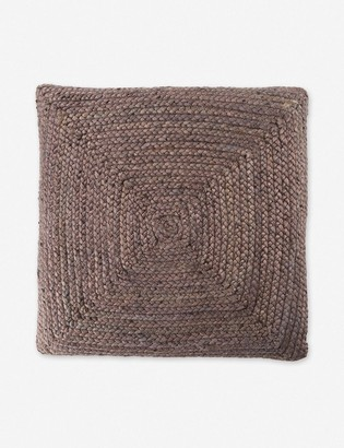 Lulu & Georgia Candess Floor Pillow, Gray