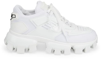 Prada Lug-Sole Tech Chunky Sneakers