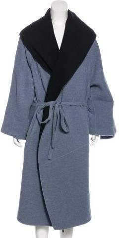 Rosetta Getty Cashmere Oversize Coat w/ Tags