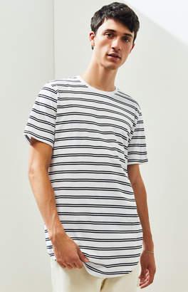 Proenza Schouler Basics Basics Ganado Striped Scallop T-Shirt