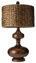 Mudhut Gourd Table Lamp with Seagrass Shade