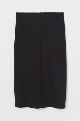 H&M Cotton jersey skirt