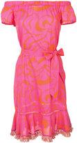 Trina Turk belted dress - women - Cotton - XS