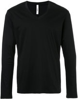 Attachment v-neck jumper