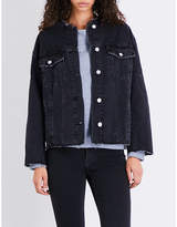 Cheap Monday Tromber raw-hem denim jacket