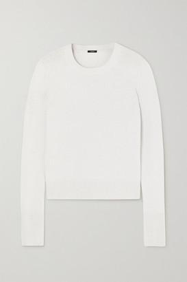 Joseph Cashmere Sweater - Silver