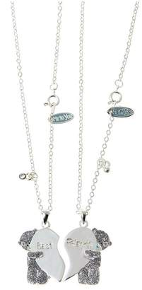 Me To You Tatty Teddy Silver Plated Best Friends Pendant Set