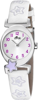 Lotus Girls Analogue Quartz Watch with Leather Strap 18173/3
