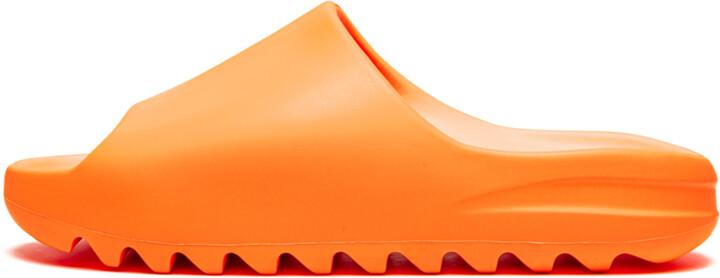 Adidas Yeezy Slides 'Enflame Orange' Shoes - Size 4