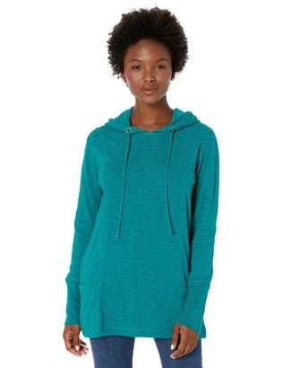 Jag Jeans Women's Petite Gemma Hooded Pullover Tunic